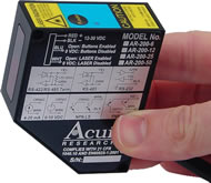 Acuity AR200 Laser Displacement Sensors