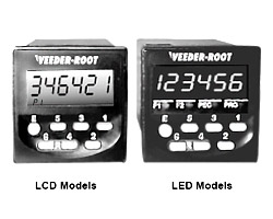 Veeder-Root C346 Full-Feature LCD & LED Dual Preset Counter