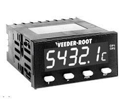 Veeder-Root C628 AWESOME Display Dual Preset & Batch Counters
