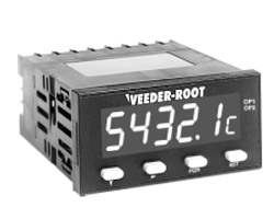 Veeder-Root S628 AWESOME Display AC Volts / Amps Meters