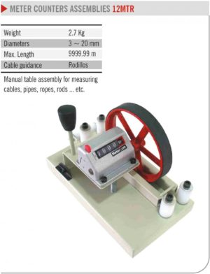 EMiT LENGTH METER COUNTERS ASSEMBLIES 12MTR