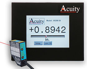 Acuity Touch Panel Display