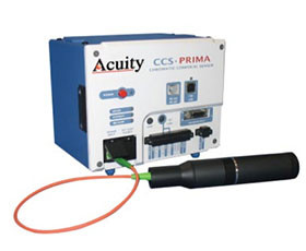 Acuity CCS Prima & Initial Confocal Displacement Sensors (Laser Transparent Thickness Measurement)
