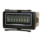 Trumeter 7111 8 digit self powered electronic LCD counter