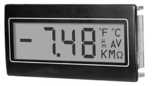 Trumeter DPM 952 3 1/2 digit LCD digital panel meter