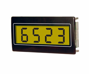 Trumeter HED 251 4 Digit panel mount counter 24mm X 48mm
