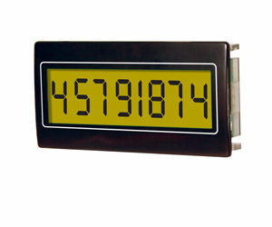 Trumeter HED 261 8 Digit panel mount counter 24mm X 48mm