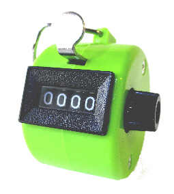 Fox ABS-1300 Hand Held Tally Counters (Avaliable in 5 Colours!)