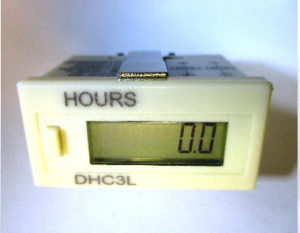 Fox DHC3L Hour Meter, Digital Timer