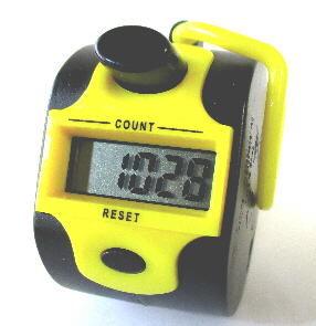 Fox AMV-1400 5 Digit Digital Hand Tally Counter