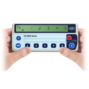 """NEW"" Line Seiki DK – 5005A, B & C Electronic Hand Tally Counters with five (5) independent counters"