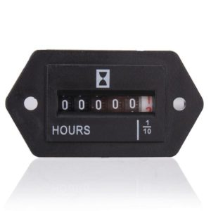 Fox HM002 Mechanical AC/DC Hour Meter (2 Hole)