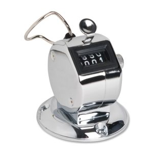 Fox AMV-1200 Metal Chrome Desk Tally (Metal Base) Counter Low Cost