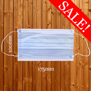 Face Masks Soft High Quality Low Cost Medical 3 Ply Disposable PPE