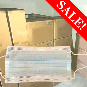 Face Masks Soft High Quality Low Cost Medical 3 Ply Disposable PPE – 2,500pcs