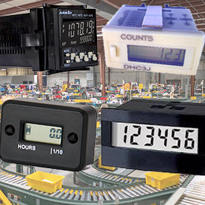 Counters Totalizers & Hour Meters